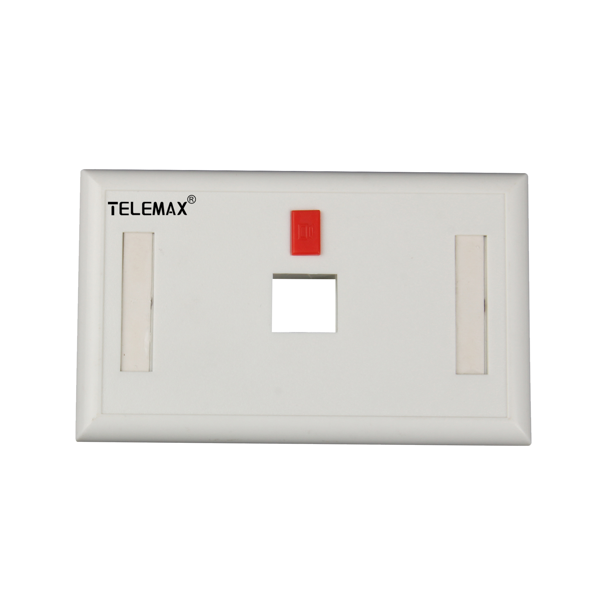 120 Type ( American Type)  Faceplate 1 Ports ABS UL94V-0