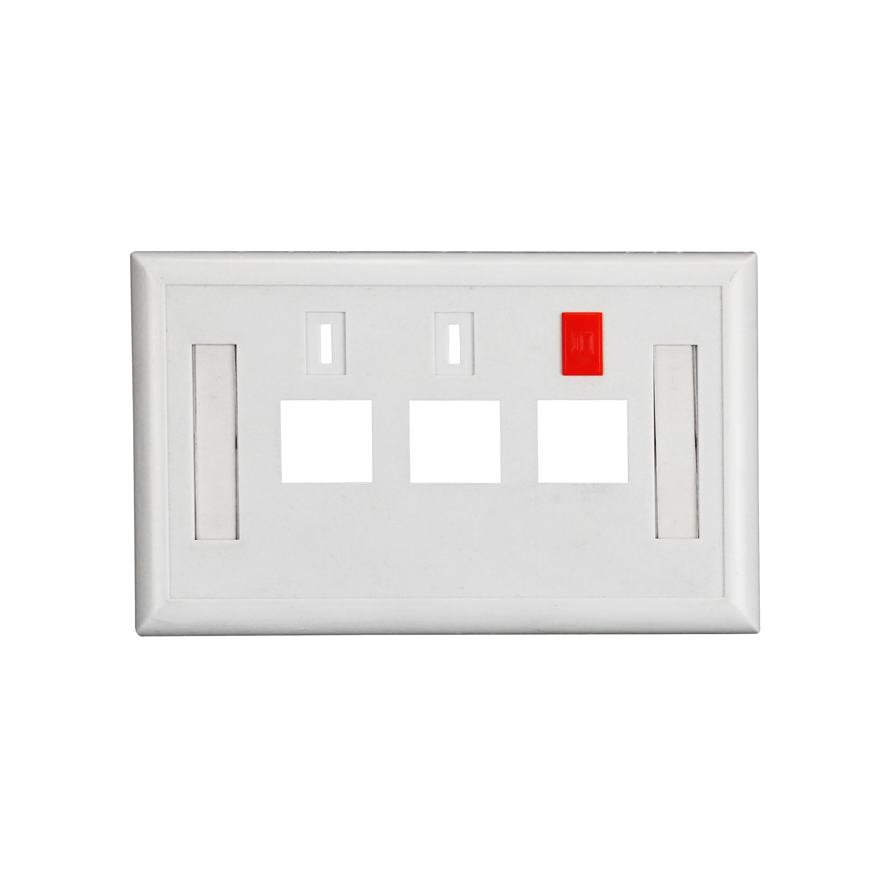 120 Type ( American Type) Faceplate 3 Ports ABS UL94V-0