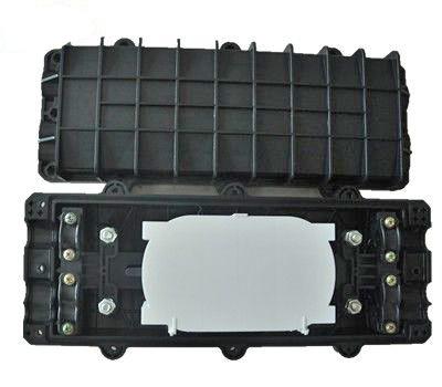 2 In 2 Out Fiber Enclosure Horizontal Type 144 Fiber Max ABS Material