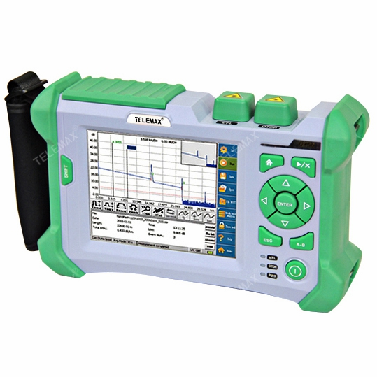 OTDR ( Optical Time Domain Reflectometer) TM-QX-50 support 850/1300/1310/1550nm Max