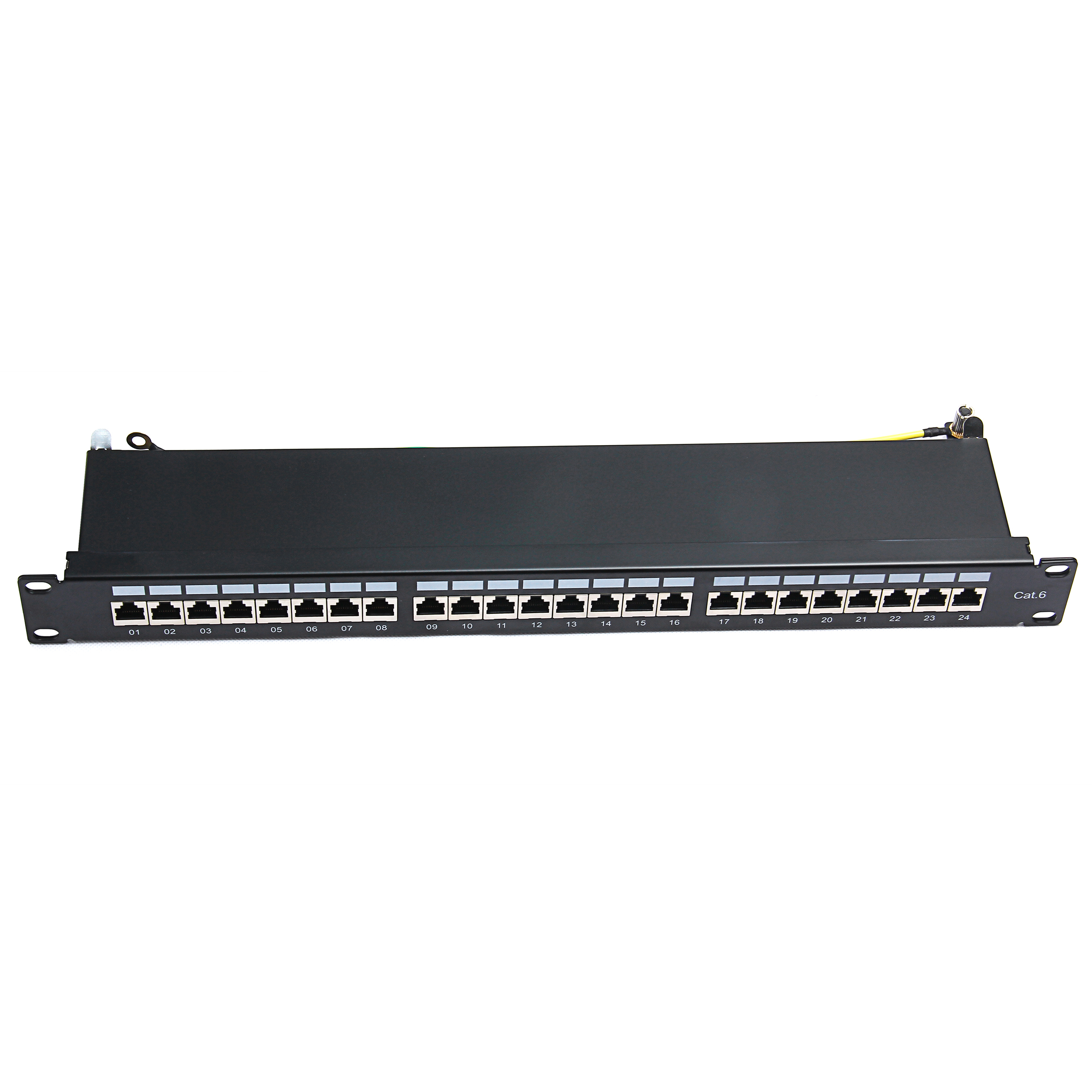 1U 19'' 24Ports Cat 6 FTP PCB Patch Panel drawer Type