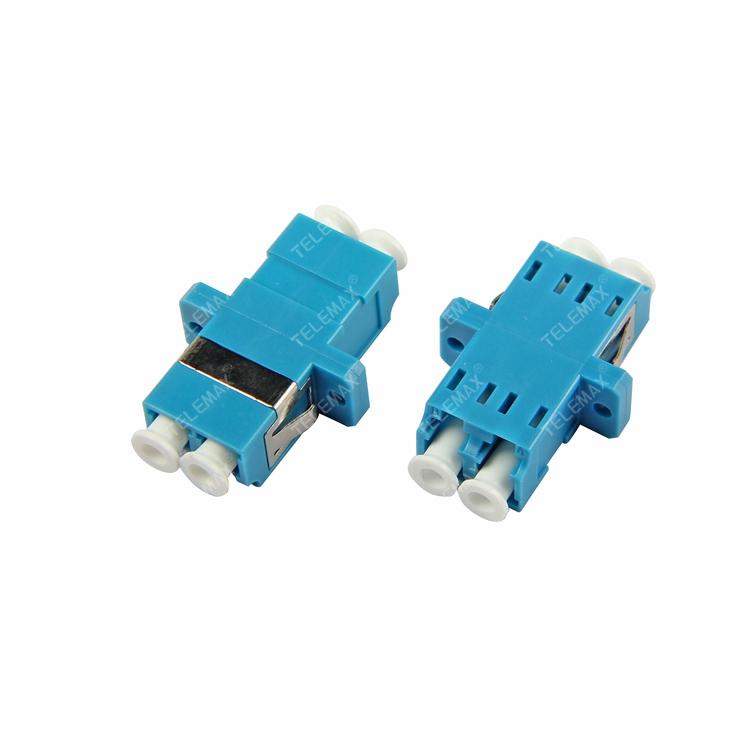 Optical Fiber Adapter LC/PC Single Mode 9/125 Duplex