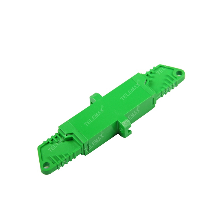 Optical Fiber Adapter E2000/APC Single Mode 9/125 Simplex