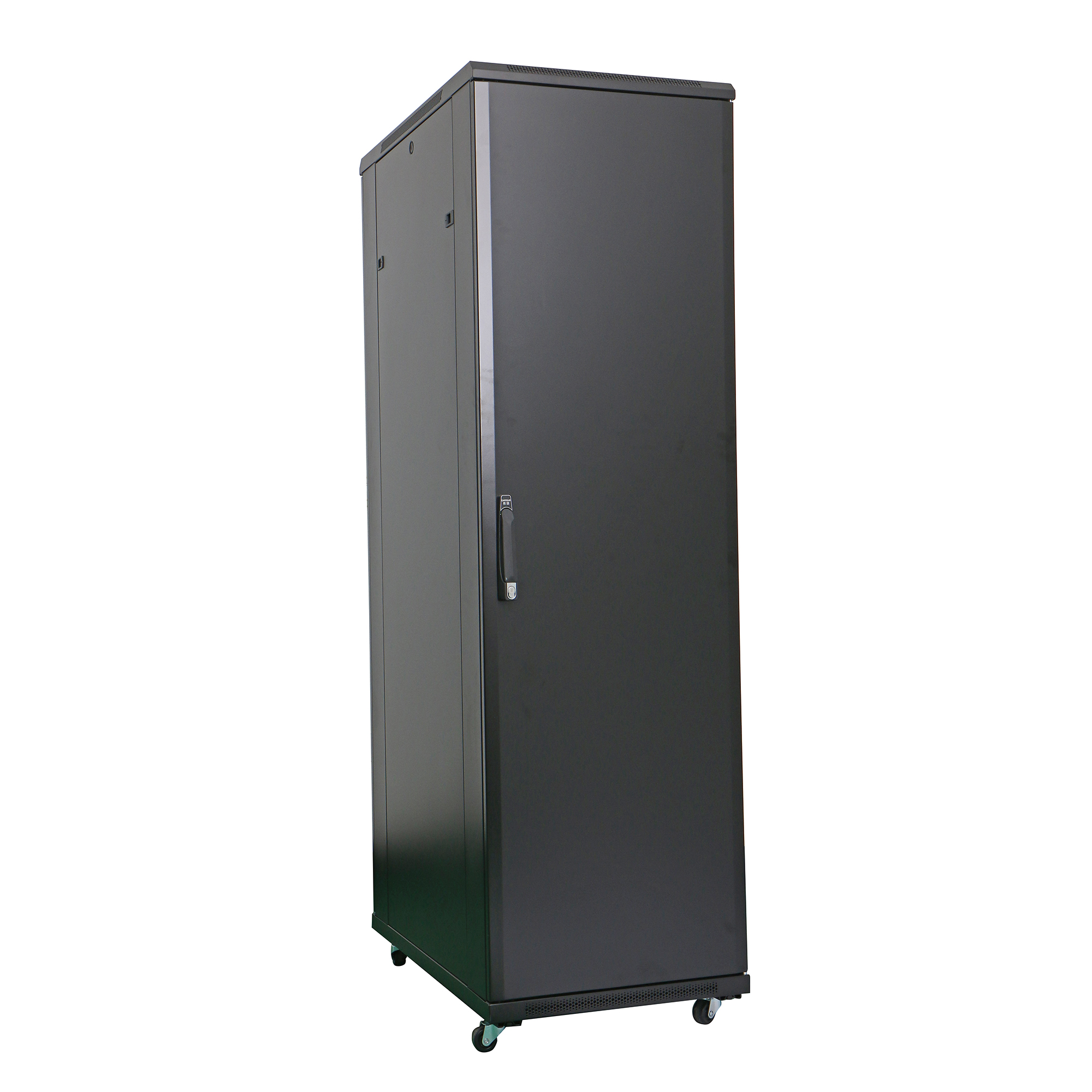 Floor/Standing Network Cabinets 19'' 600mm/800mm/1000mm depth 18U - 47U Metal Door